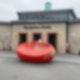 Das rote Ei von der Bornholmer Straße