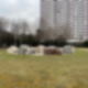 Die Steine auf dem Platz der Vereinten Nationen in Friedrichshain