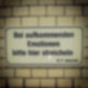"""""""Emotionen""""-Schild in den Hackeschen Höfen"""
