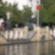 Signalkugel am May-Ayim-Ufer in Kreuzberg